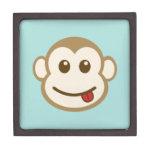 Caja de regalo de la cara del mono cajas de recuerdo de calidad