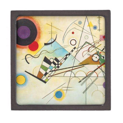 Caja de regalo de la composición VIII de Kandinsky Cajas De Recuerdo De Calidad