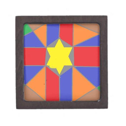 Caja de regalo de la estrella caja de regalo de calidad