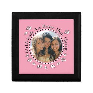Caja de regalo de la foto de la terapia de la novi