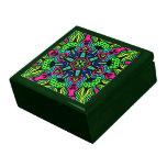 Caja de regalo de la joyería del recuerdo del cale