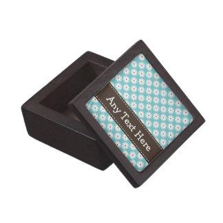 Caja de regalo de la margarita de las azules turqu caja de regalo de calidad