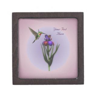 Caja de regalo de la naturaleza de la flor del iri cajas de regalo de calidad