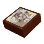 Caja de regalo de la pintura del extracto del enre