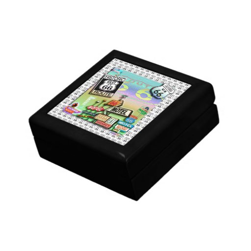 Caja de regalo de la ruta 66