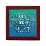 Caja de regalo de la sabiduría del valor de la ser