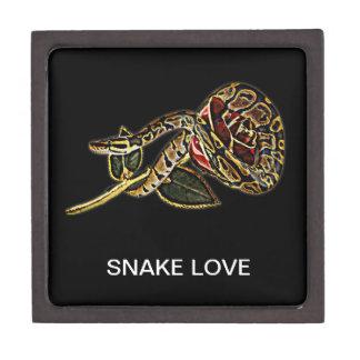 Caja de regalo de la serpiente caja de joyas de calidad