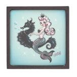 Caja de regalo de la sirena de Pearla por la pelus Cajas De Regalo De Calidad