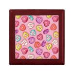 Caja de regalo de la tarjeta del día de San Valent