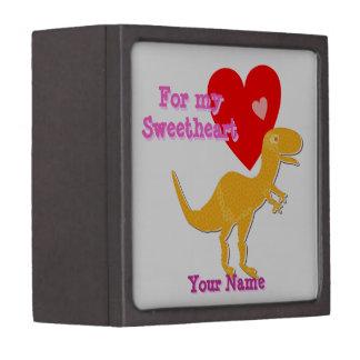 Caja de regalo de la tarjeta del día de San Valent Caja De Recuerdo De Calidad