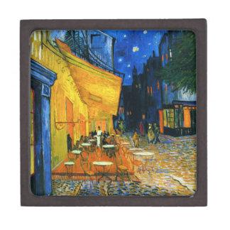 Caja de regalo de la terraza de Van Gogh Café Cajas De Regalo De Calidad