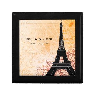 Caja de regalo de la torre Eiffel