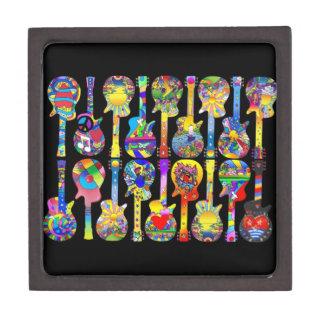 Caja de regalo de las guitarras caja de regalo de calidad