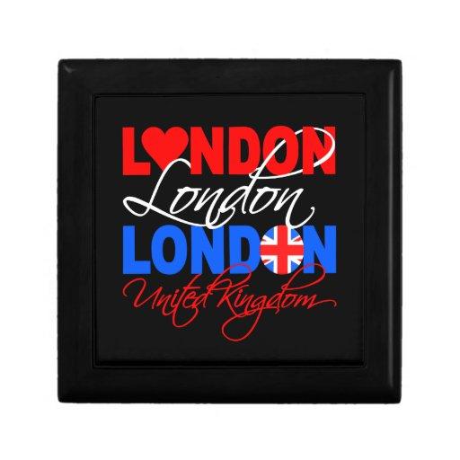 Caja de regalo de Londres