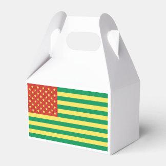 Caja de regalo de los E.E.U.U. de la bandera de Caja Para Regalo De Boda