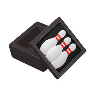Caja de regalo de los pernos de bolos caja de joyas de calidad