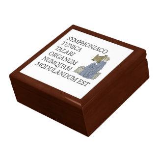 Caja de regalo de los tubos de órgano - refrán lat