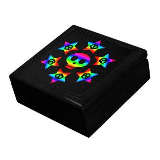 Caja de regalo de lujo de las estrellas y de los c