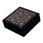 Caja de regalo de madera de la impresión del kimon