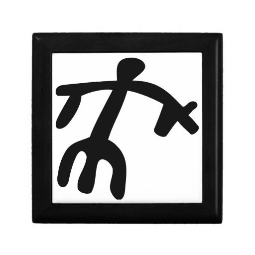 """""""Caja de regalo de madera del arte de la roca"""" Joyero Cuadrado Pequeño"""