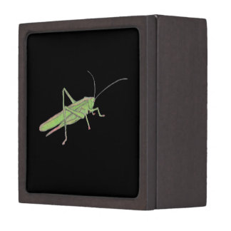Caja de regalo de madera magnética del saltamontes cajas de joyas de calidad