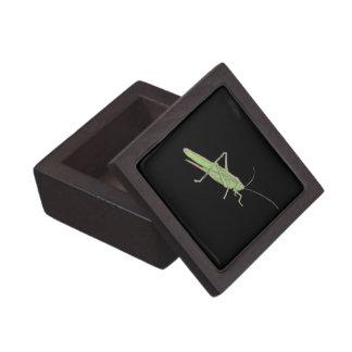 Caja de regalo de madera magnética del saltamontes caja de regalo de calidad