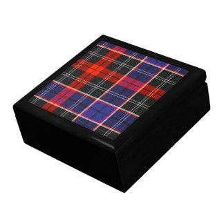 Caja de regalo de obispo Tartan