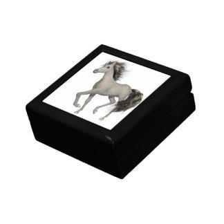 Caja de regalo de oro del unicornio