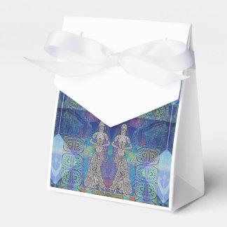 Caja de regalo de piedra de las criadas cajas para regalos de boda