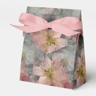 Caja de regalo de piedra del diseño floral de la caja para regalos