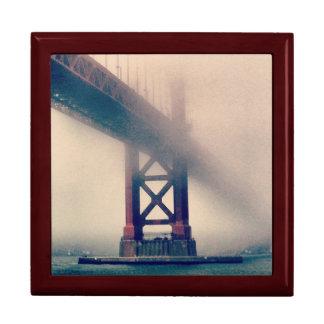 Caja de regalo de puente Golden Gate