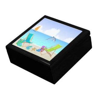 Caja de regalo de relajación de la playa/caja de l