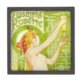 Caja de regalo de Robette del ajenjo de Alfonso Mu Caja De Recuerdo De Calidad
