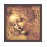 Caja de regalo de Scapigliata del La de da Vinci Caja De Recuerdo De Calidad