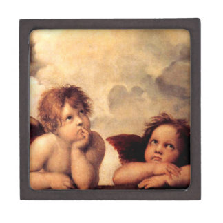 Caja de regalo de Sistine Madonna de las querubes  Caja De Joyas De Calidad