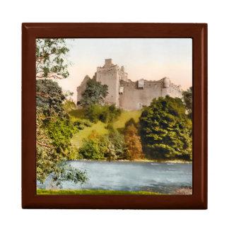 Caja de regalo de Stirlingshire Escocia del Joyero Cuadrado Grande