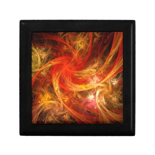 Caja de regalo del arte abstracto de la tormenta d