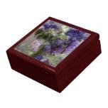 Caja de regalo del arte de las lilas de Pascua