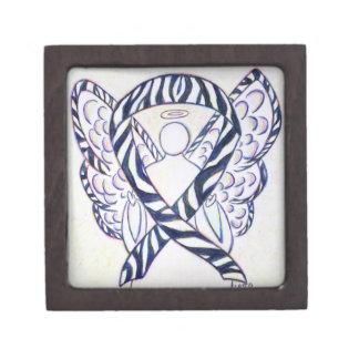 Caja de regalo del arte del ángel de la cinta de caja de recuerdo de calidad