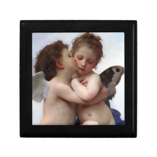 Caja de regalo del beso del ángel