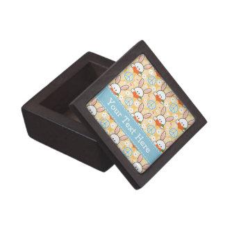 Caja de regalo del conejo de conejitos del amor de cajas de recuerdo de calidad