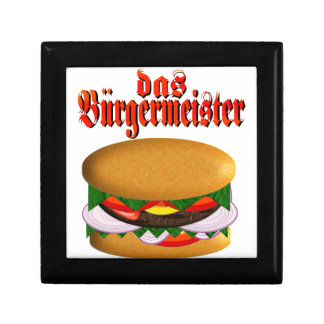 caja de regalo del das Burgermeister Joyero Cuadrado Pequeño