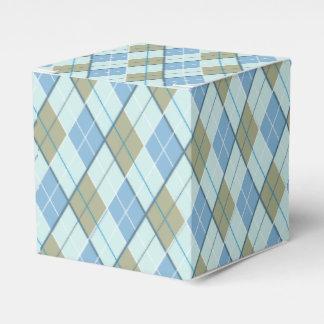 Caja de regalo del deporte del golf del marrón cajas para detalles de boda