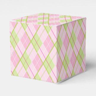 Caja de regalo del deporte del golf del verde del caja para regalos de fiestas