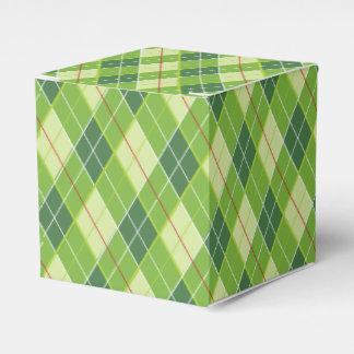 Caja de regalo del deporte del golf del verde del cajas para regalos de boda
