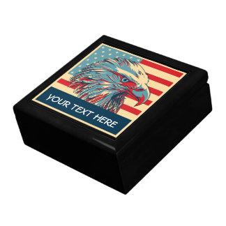 caja de regalo del día de veteranos