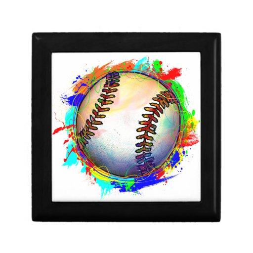 Caja de regalo del diseño 2 del béisbol