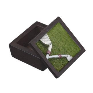 Caja de regalo del diseño del club de golf pequeña caja de joyas de calidad