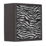 Caja de regalo del estampado de zebra caja de joyas de calidad