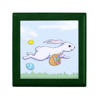 Caja de regalo del funcionamiento del conejo de Pa